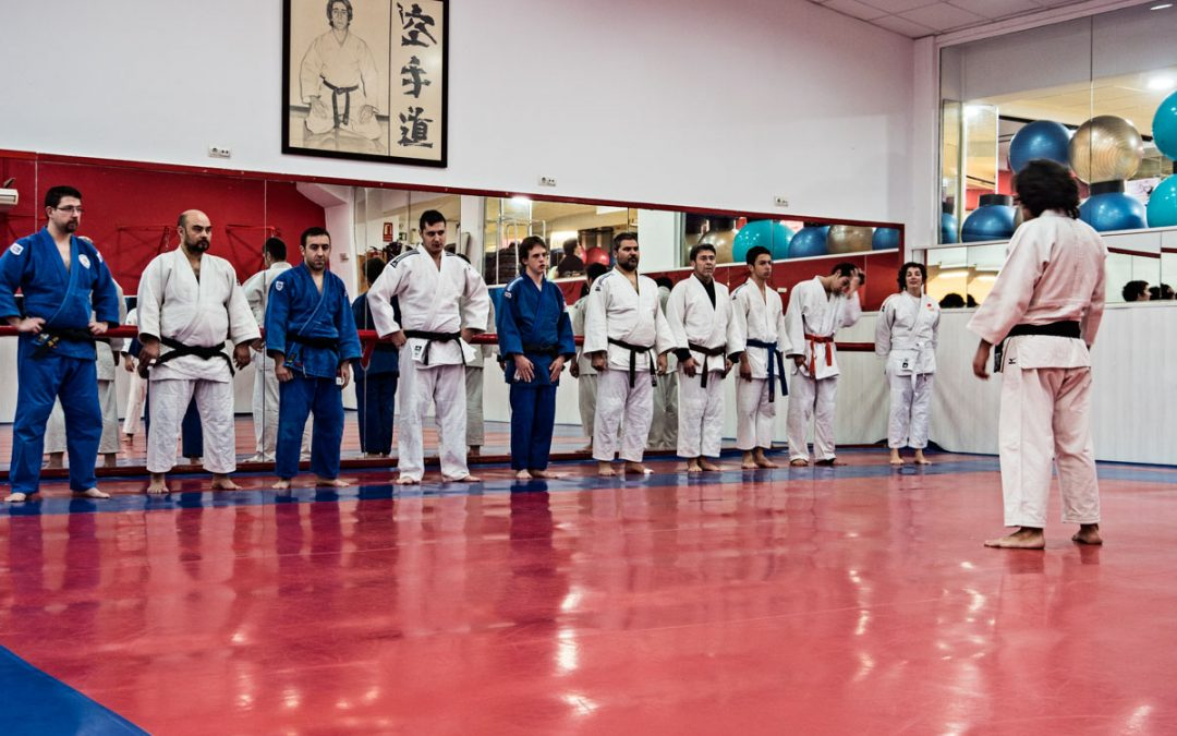 Visita a la Escuela de judo Kitaro