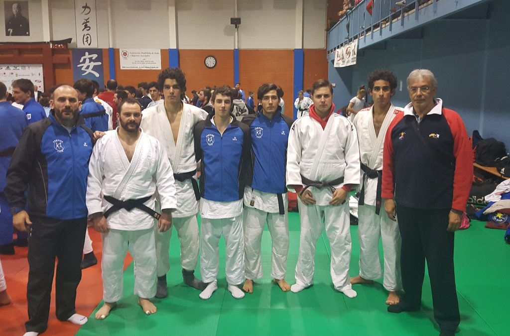 Open Nacional de judo suelo junior y absoluta