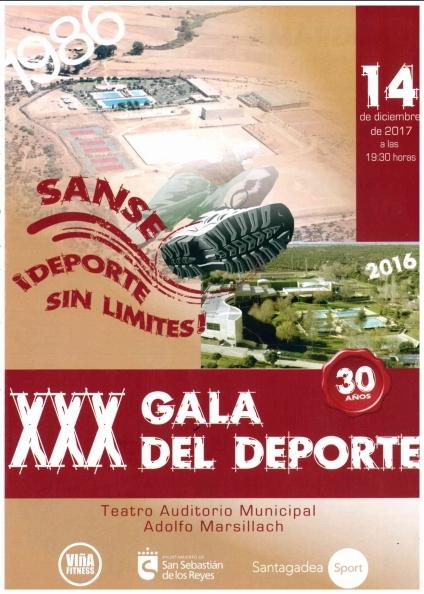 XXX Gala del deporte