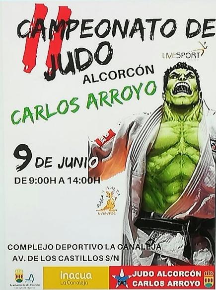 II Campeonato de Judo Carlos Arroyo