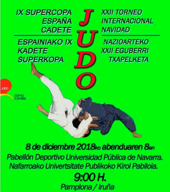 Supercopa de España de Judo Cadete de Navarra