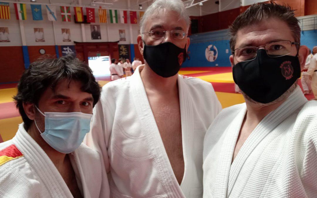 Actualización Técnica de profesores para presentación a examenes de Judo